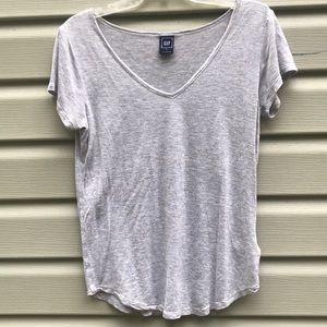 Gray Sparkly V Neck ✨